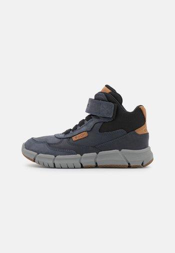 FLEXYPER BOY - Lace-up ankle boots - navy