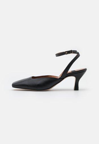 ANKLE STRAP - Klassieke pumps - black