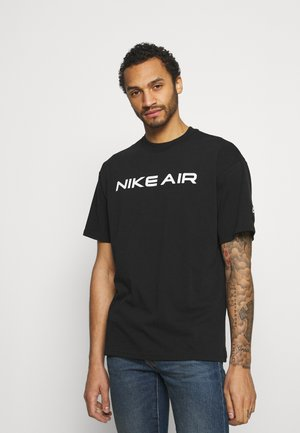 TEE AIR  - Camiseta estampada - black