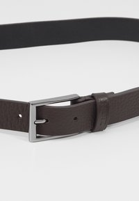Zign - UNISEX LEATHER - Belt business - brown - 2