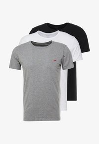 Diesel - 3 PACK - Pyjama top - grey/black/white - 3