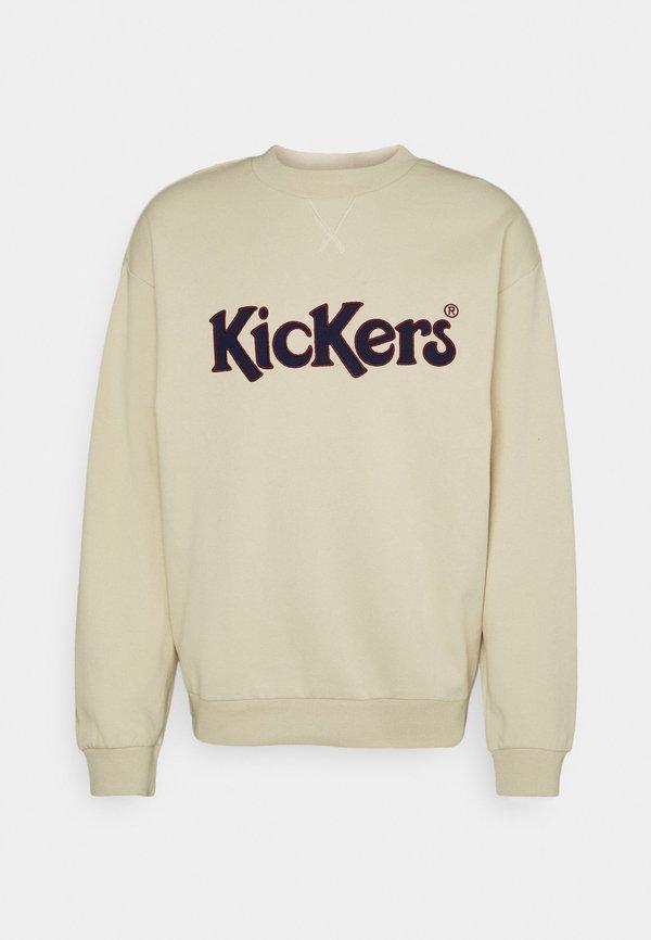 Kickers Classics CREWNECK - Bluza - angora/beżowy Odzież Męska ZBMO