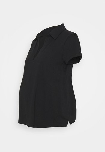 MATERNITY SHORT SLEEVE - T-shirt basic - black