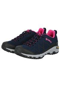 Brütting - Hiking shoes - dark blue/light pink - 2