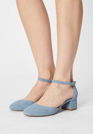 LEATHER - Zapatos de novia - light blue