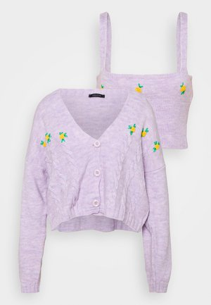 SET 2-IN-1 - Jumper - lila