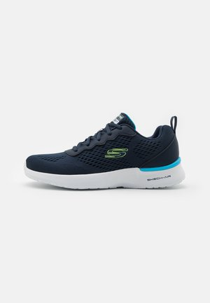 SKECH-AIR DYNAMIGHT TUNED UP - Sneaker low - navy/lime