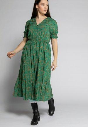 Korte jurk - smaragdgroen