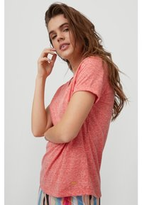O'Neill - Basic T-shirt - hot coral - 3