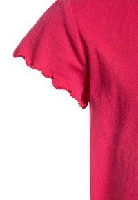 Tommy Hilfiger - ESSENTIAL RUFFLE SLEEVE - Camiseta estampada - pink - 2