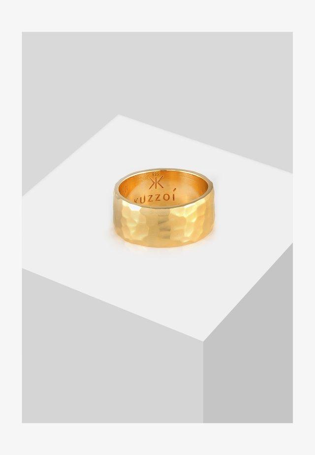 GEHÄMMERT  - Bague - gold