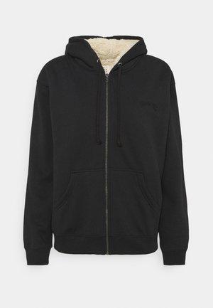 COMFTY SHERPA - Zip-up sweatshirt - black