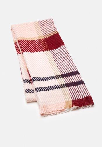 BLAIR TARTAN SCARF - Scarf - red/pink