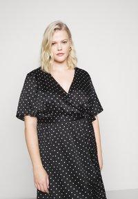 New Look Curves - MARK MAKING - Denní šaty - black - 4
