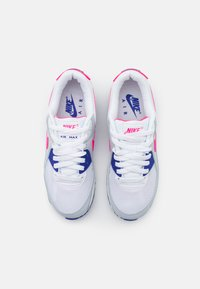 Nike Sportswear - AIR MAX 90 - Sneakers laag - white/hyper pink/concord/pure platinum/black - 7