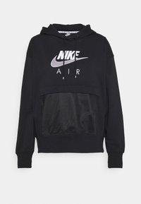 Nike Sportswear - AIR HOODIE - Hoodie - black/white - 3