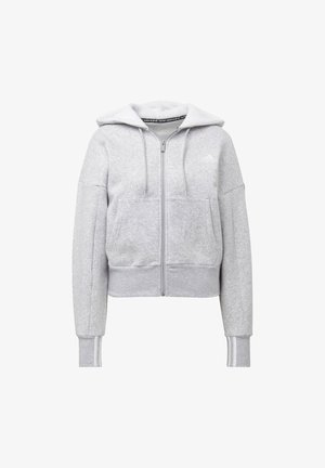 BIG BADGE OF SPORT FULL-ZIP HOODIE - Hettejakke - grey