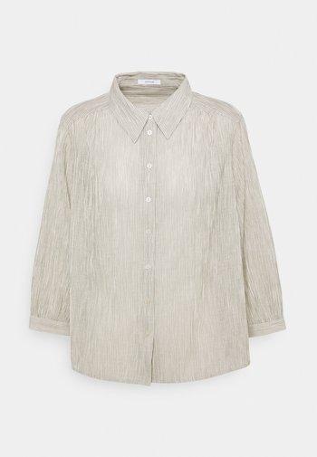 FISANA - Button-down blouse - milk