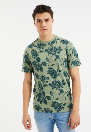 T-Shirt print - moss green