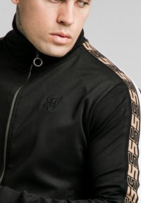SIKSILK - RETRO ZIP THROUGH - Cardigan - black - 4