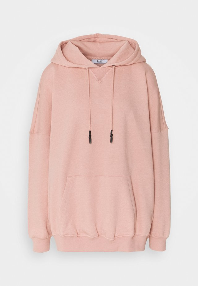 ONLDOVE OVERSIZE TALL - Hoodie - rose tan
