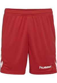 Hummel - DUO SET - Sports shorts - white/true red - 3