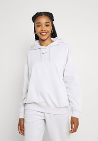 Nike Sportswear - HOODIE - Sudadera - platinum tint/white - 0
