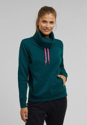 MIT ORGANIC COTTON - Sweatshirt - dark teal green