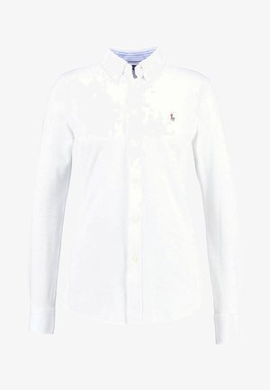 HEIDI LONG SLEEVE - Button-down blouse - white