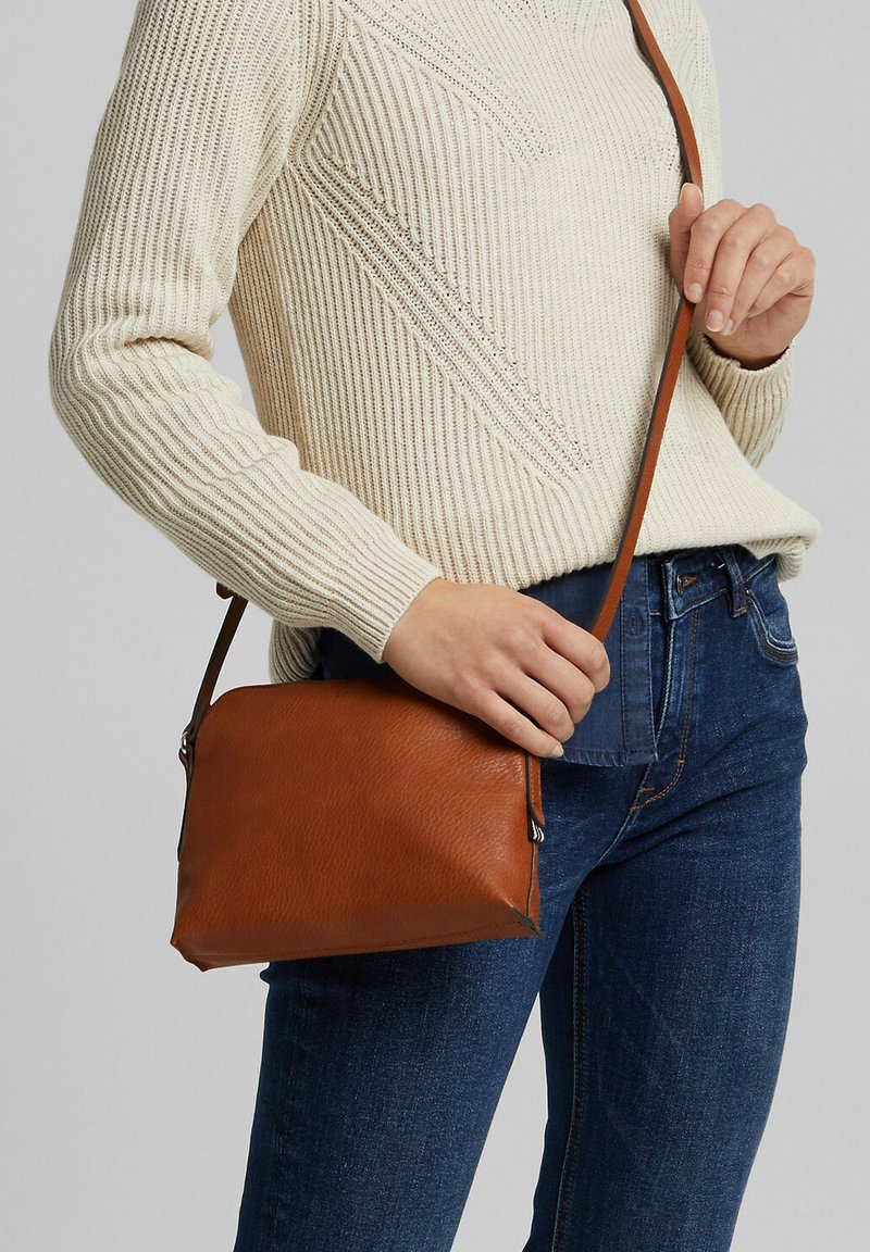 Esprit - Across body bag - rust brown