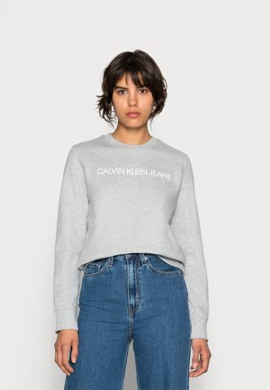 INSTITUTIONAL CORE LOGO - Sweatshirt - light grey