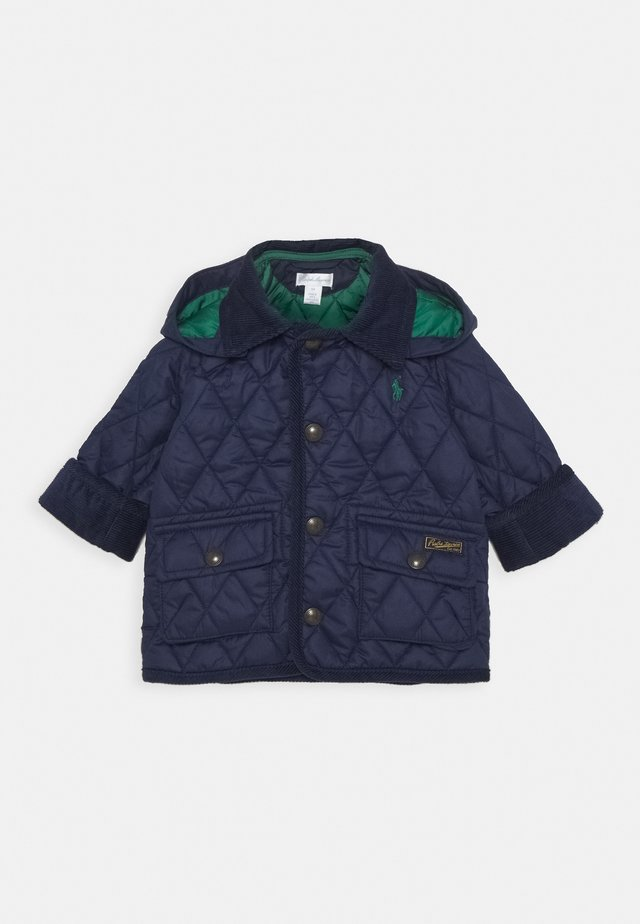 KEMPTON CAR OUTERWEAR JACKET - Wintermantel - cruise navy