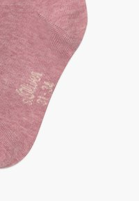 s.Oliver - ONLINE JUNIOR ORIGINAL QUARTER 6 PACK - Socks - chalk pink
