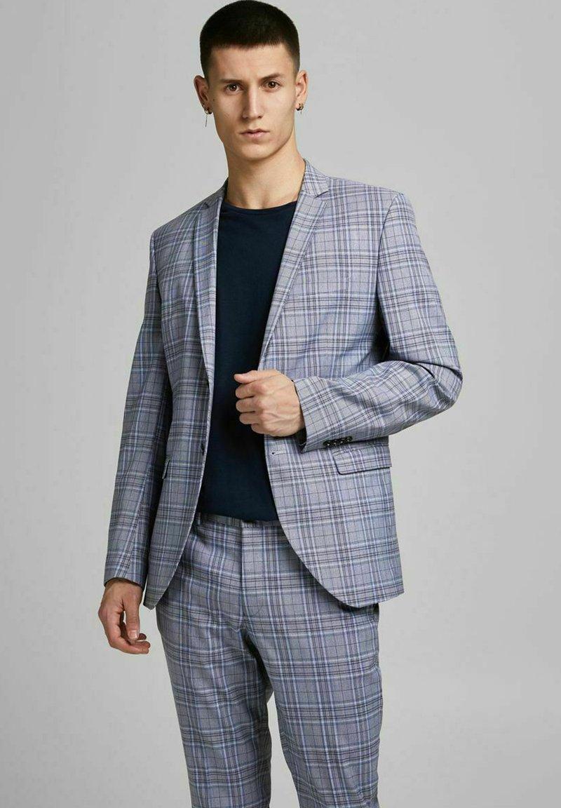 Jack & Jones PREMIUM - Blazer jacket - grey melange