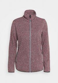 Campagnolo - WOMAN JACKET - Fleece jacket - sangria/antracite - 0
