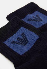 Emporio Armani - IN-SHOE SOCKS 2 PACK - Socks - blu navy - 1