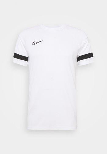 ACADEMY 21 - T-shirts print - white/black