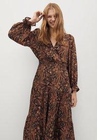 Mango - OSLO - Day dress - marrón - 2