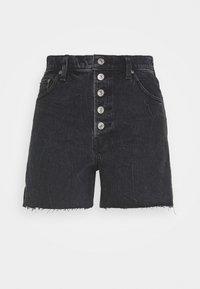 SHANK - Shorts di jeans - black