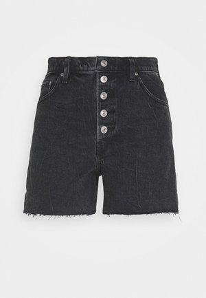SHANK - Shorts vaqueros - black