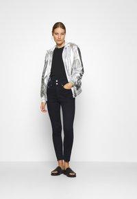 Calvin Klein Jeans - Light jacket - silver metallic - 1