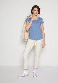 TOM TAILOR DENIM - Print T-shirt - soft mid blue - 3