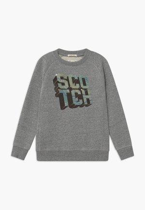 CREWNECK WITH ARTWORK - Sweater - grey