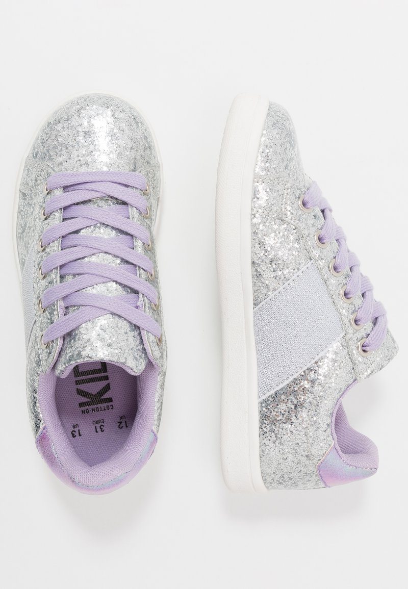 Cotton On - STREET TRAINER - Sneakers - silver glitter