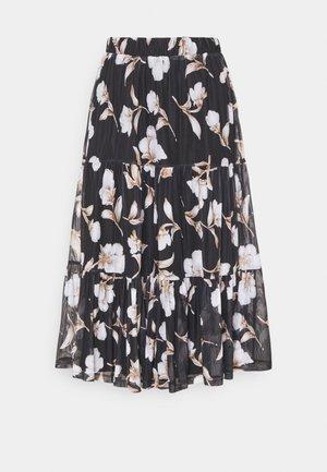 VIDAVIS MIDI SKIRT - A-line skirt - black