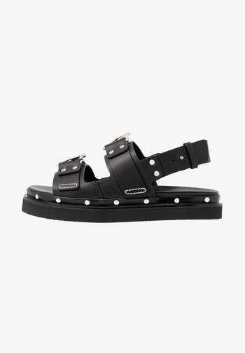 ALIX - Platform sandals - black