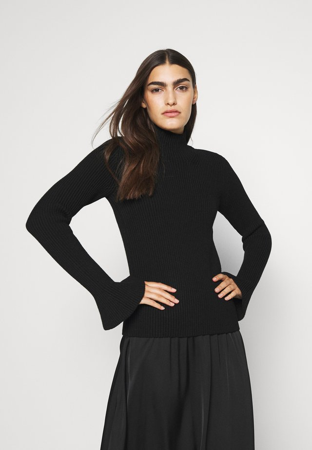 MANDY BLOUSE - Jumper - black
