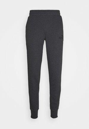 ESS LOGO PANTS - Spodnie treningowe - dark gray heather