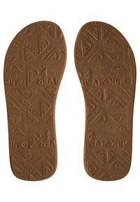 Quiksilver - MOLO ABYSS - T-bar sandals - black/brown - 3