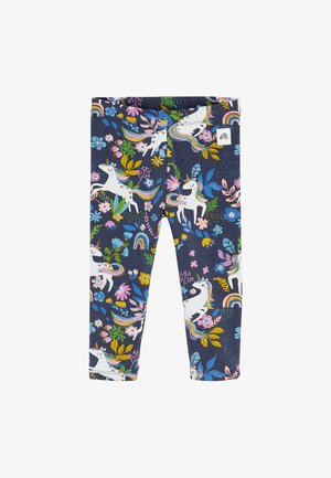 PRINTED LEGGINGS - Leggings - Trousers - blue